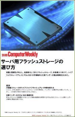 別冊Computer Weekly サーバ用フラッシュストレージの選び方