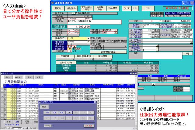 固定資産管理システム シサンM7