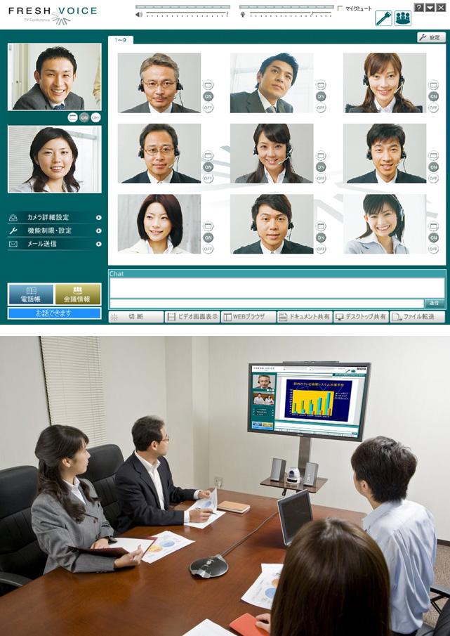 テレビ会議システム Fresh Voice