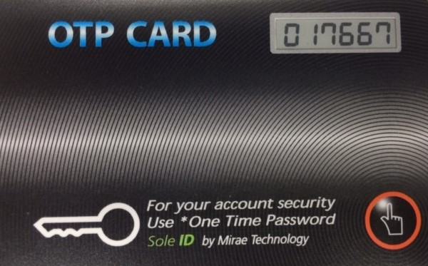 OTP(One Time Password)MRC-100nP
