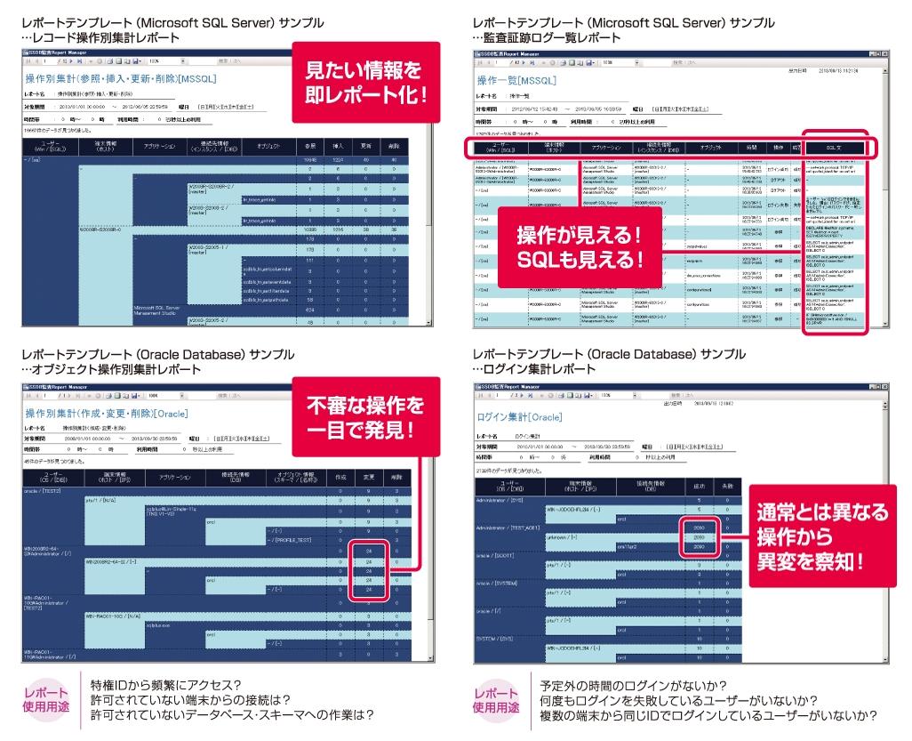 データベース監査パッケージ「SSDB監査」