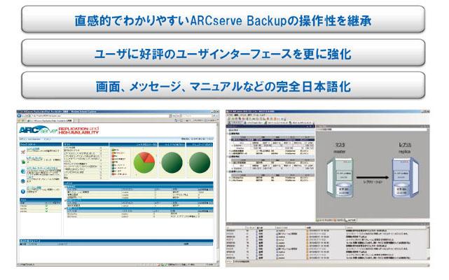 リアルタイムレプリケーション【Arcserve Replication/HA】