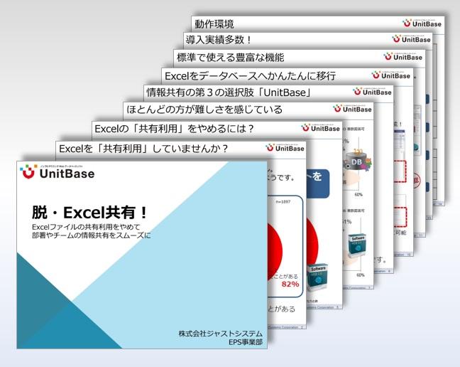 【ノンプログラミングWebデータベースソフト】UnitBase