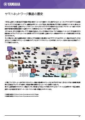 企業ネットワークと街の通信インフラを支えてきたヤマハネットワーク製品の歴史