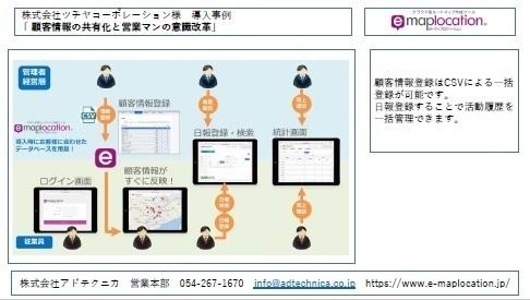 紙ベースの顧客情報をクラウドで管理し業務スピードアップ