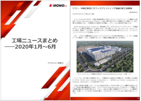工場ニュースまとめ――2020年1月~6月