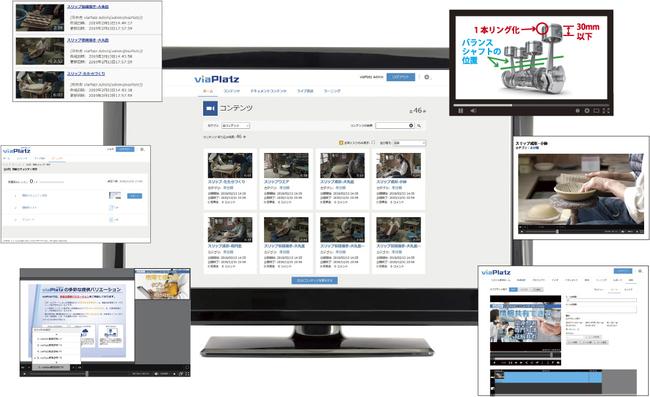 映像配信システム/映像配信サービス「viaPlatz」
