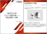 3Dプリンタニュースまとめ――2021年1~3月