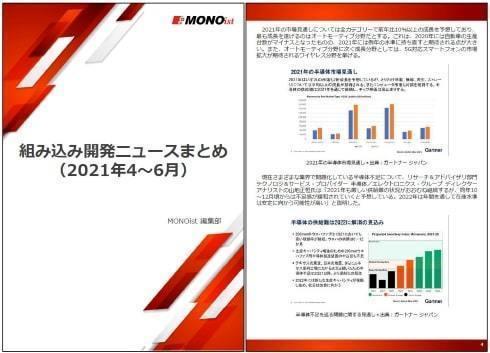 組み込み開発ニュースまとめ(2021年4~6月)
