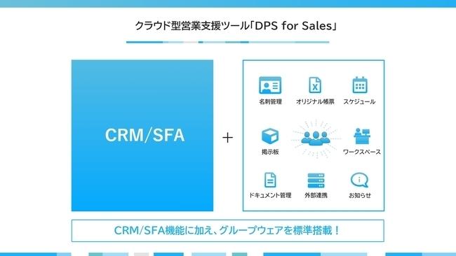 営業支援(SFA)クラウドサービス「DPS for Sales」